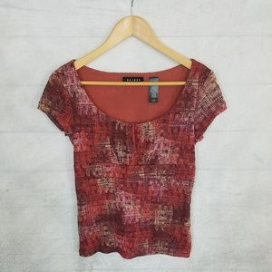 *** 3/$20*** Axcess – Stretch knit blouse – M